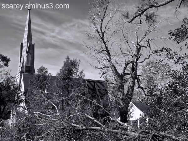 Tornado Damaged Trinity Episcopal Church