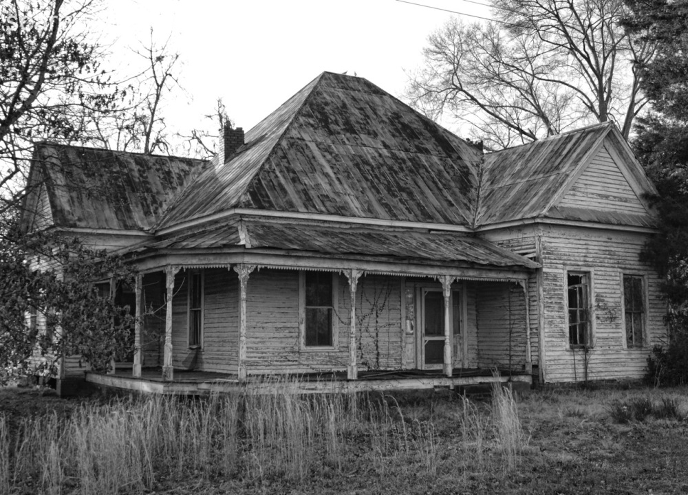 An Abandoned House in Thomaston, Alabama