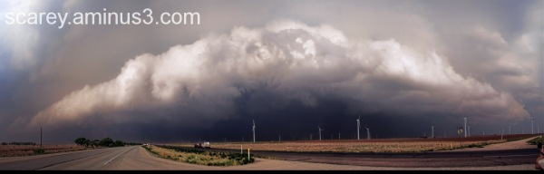 Supercell storm on the Great Plains