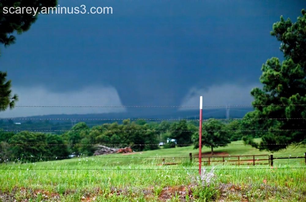 EF 3 Wedge Tornado Carney Oklahoma
