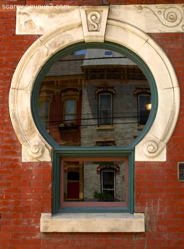 Victorian age window in Wheeling WV