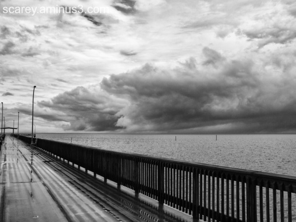 Thunderstorm Clouds over Mobile Bay