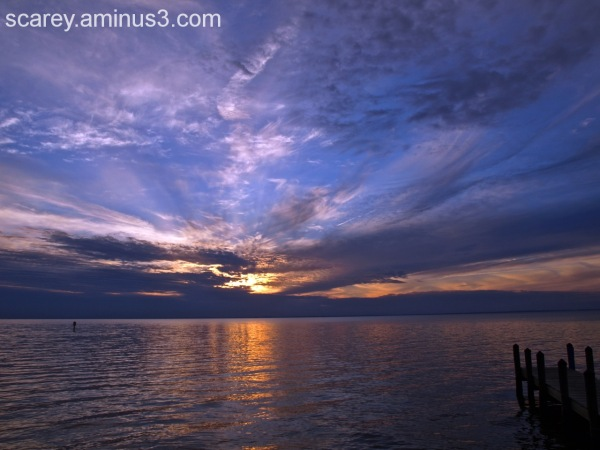 Sunset ovr Mobile Bay Alabama