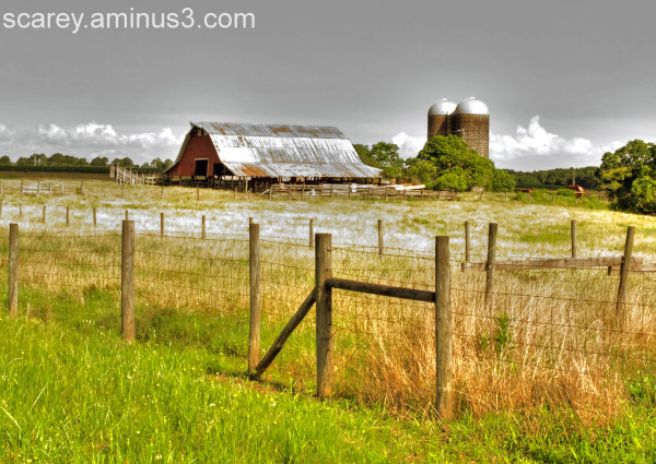 Old Dairy Farm in Alabama