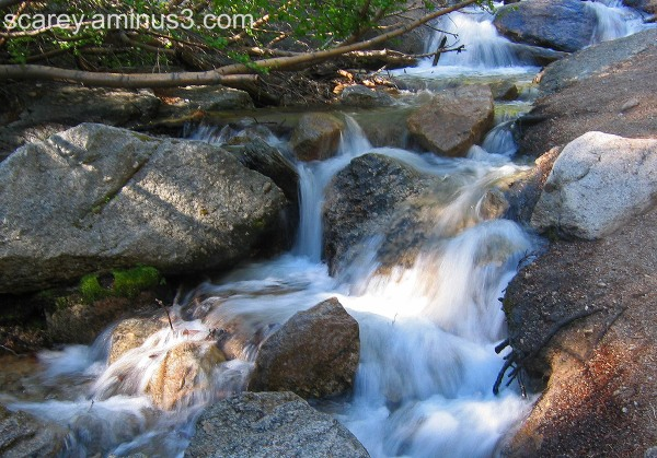 Stream near Mt. Whitney, California