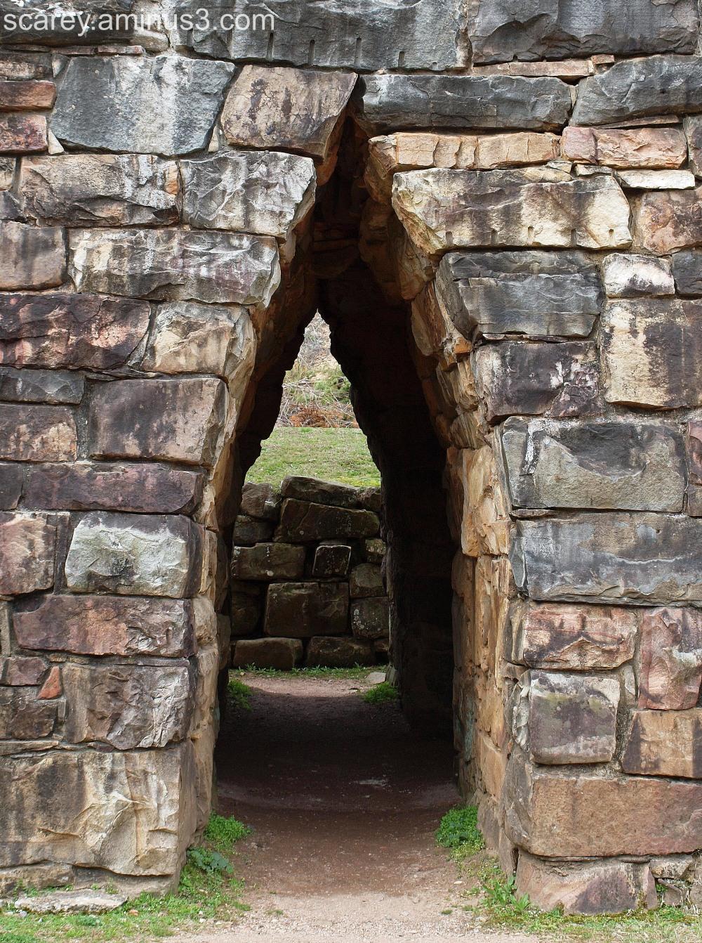 Stonework at Tannehill State Park, Alabama