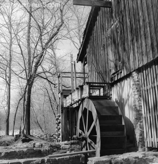 grist mill at Tannehill State Park Alabama