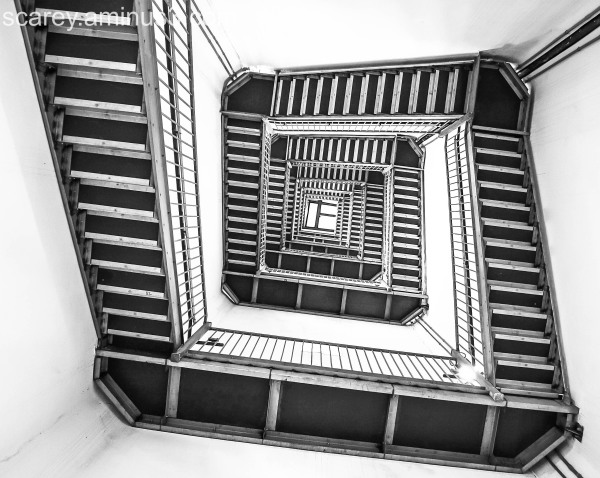 Stairwell in the New Jersey High Point Monument