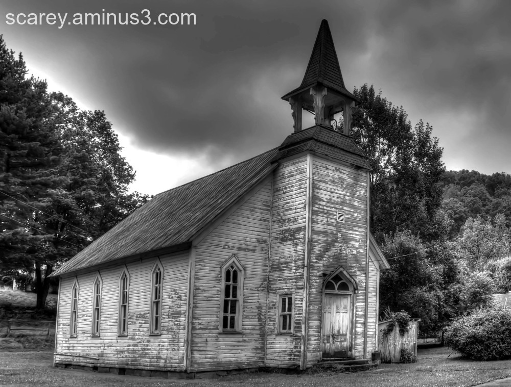 Methodist church in Glen Easton West Virginia