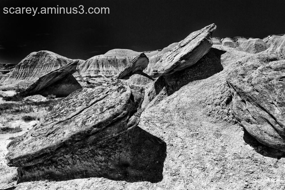 Toadstool Geologic Park, Nebraska.