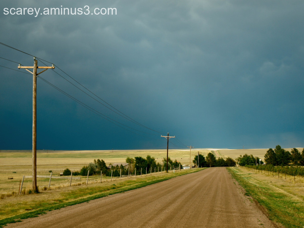 Late afternoon storm on the Great Plains