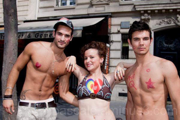 Gay Pride Paris 27 juin 2009 - 9