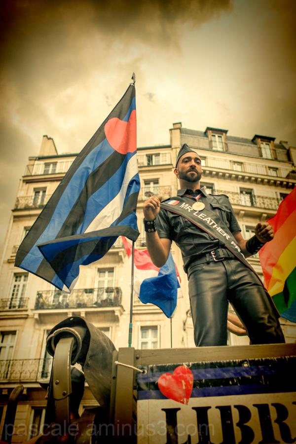 Ambiance Gay Pride Paris 2012