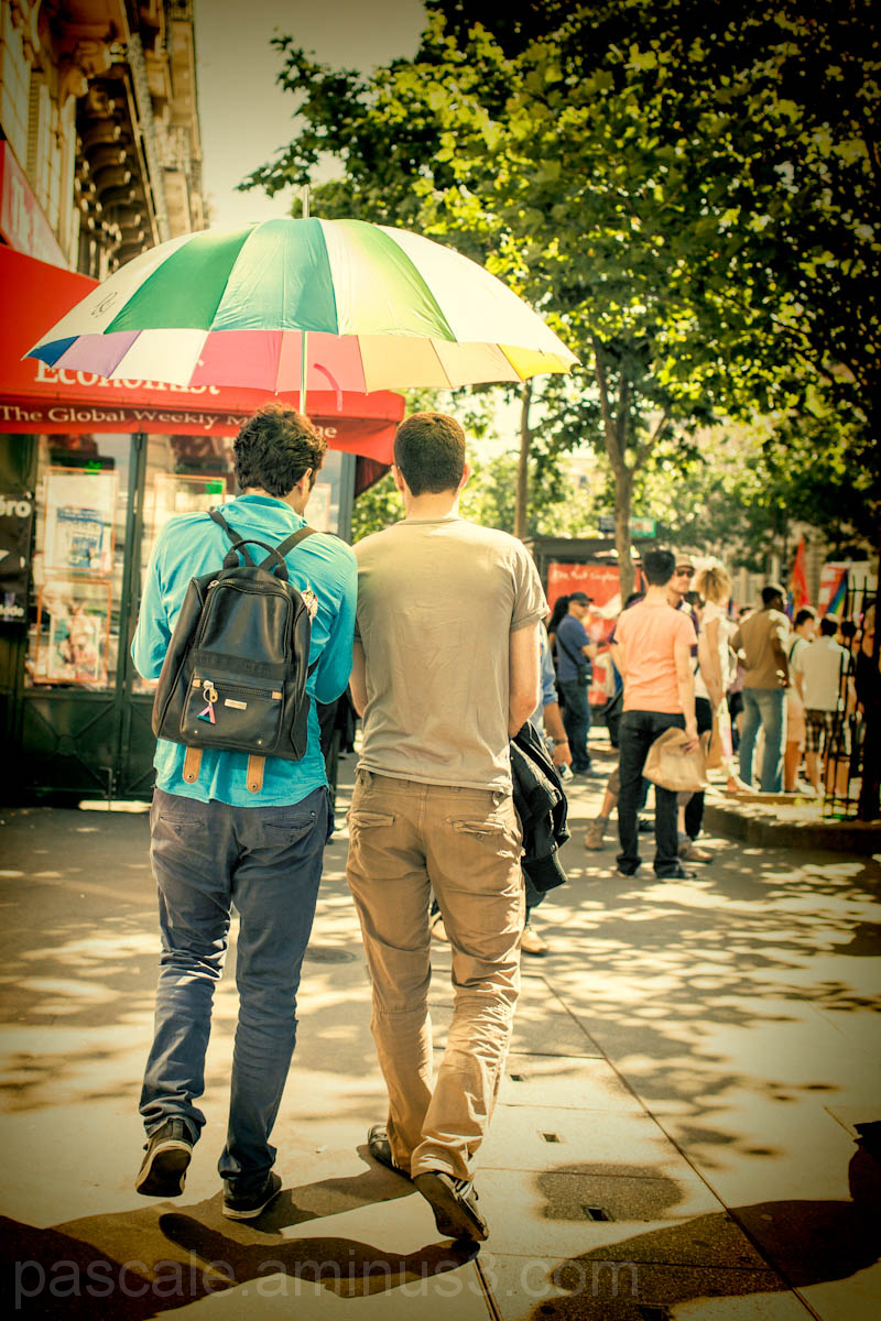 Ambiance Gay Pride Paris 2012
