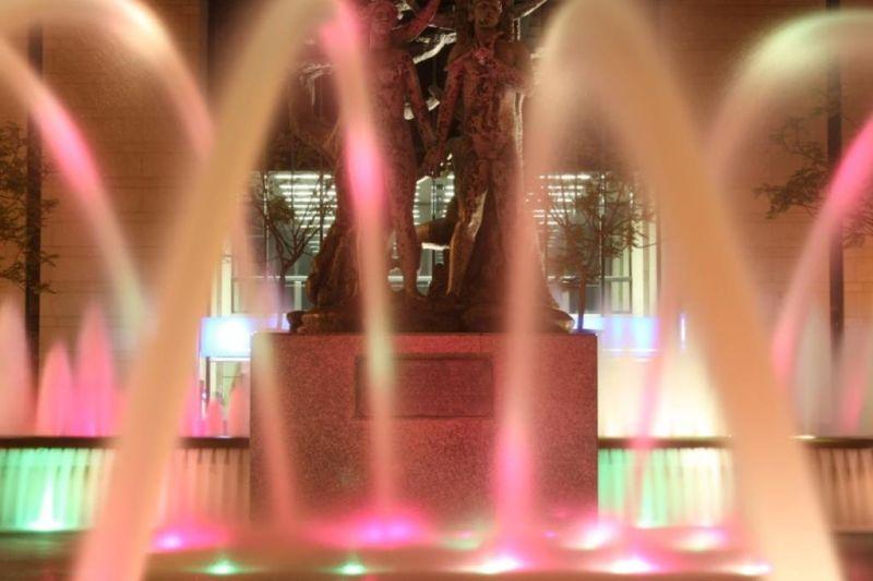 Luminous fountain - Leiria