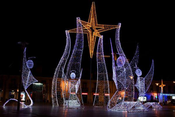 Christmas Lights in Leiria