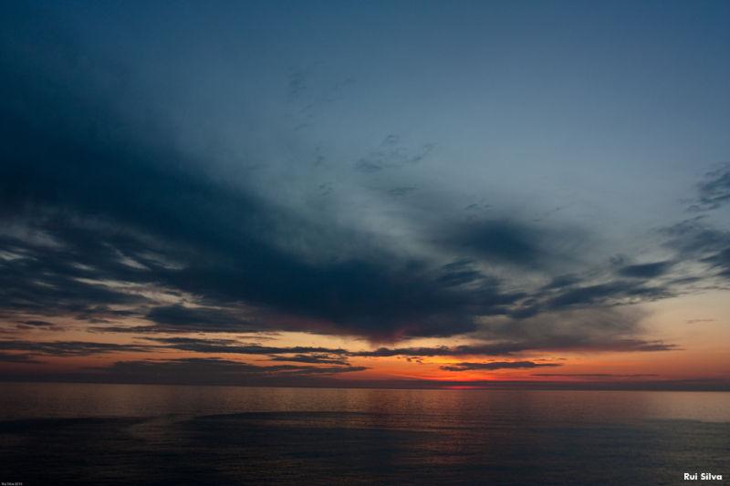 Where sea and sky meet