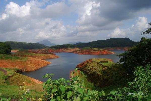 Kerala landscapes Idukki dam
