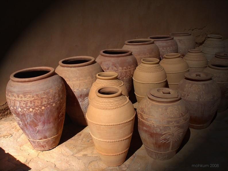 Oman bahla pottery