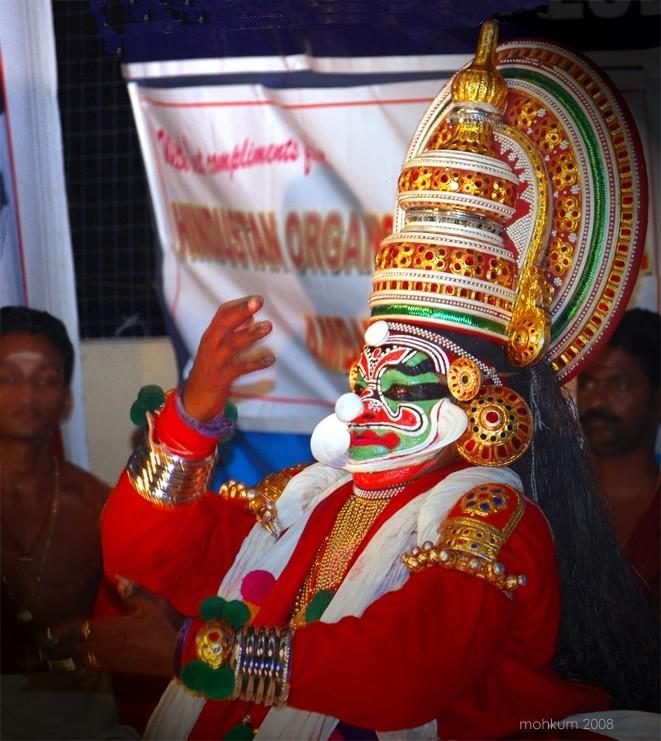 Kathakali Kerala Artform Sadanam Krishnankutty