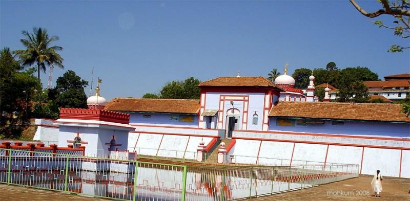 Omkareshwara temple Architecture Madikeri Coorg