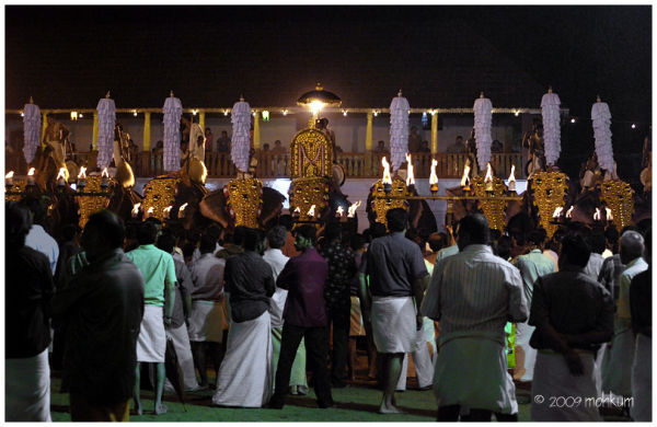 A deity procession