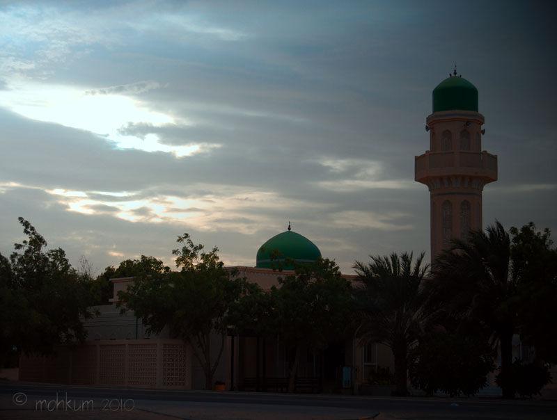 The Fahud landmark, Oman