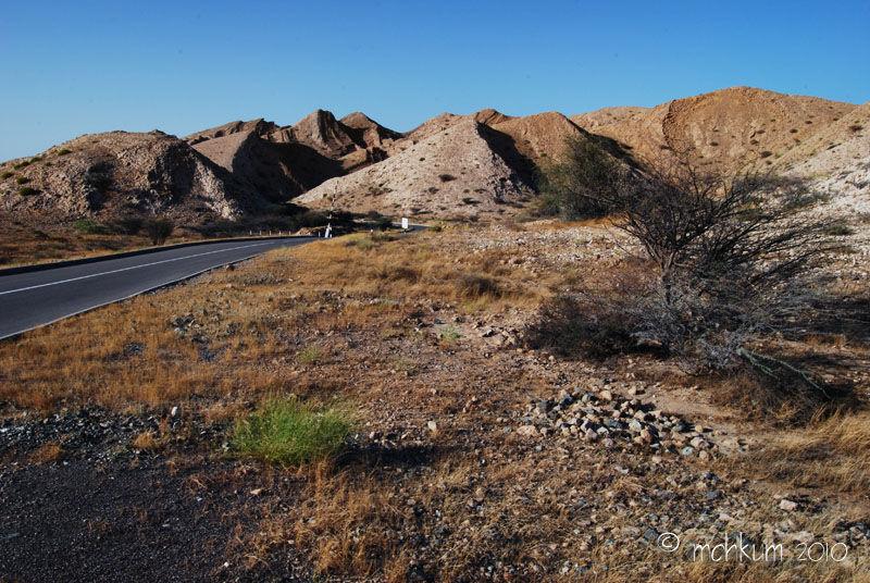 The rough terrain