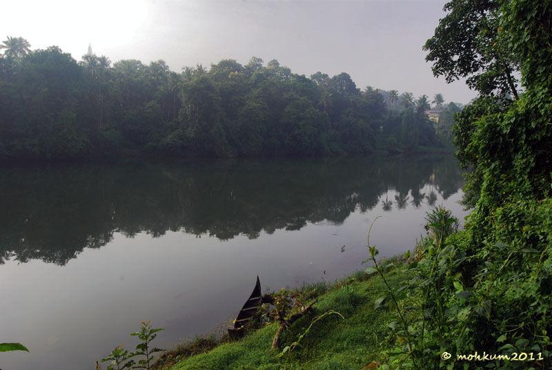 The riverside boat