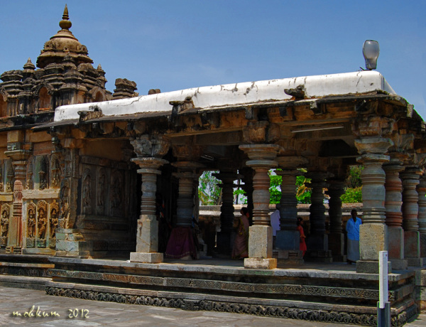 The temples of South India