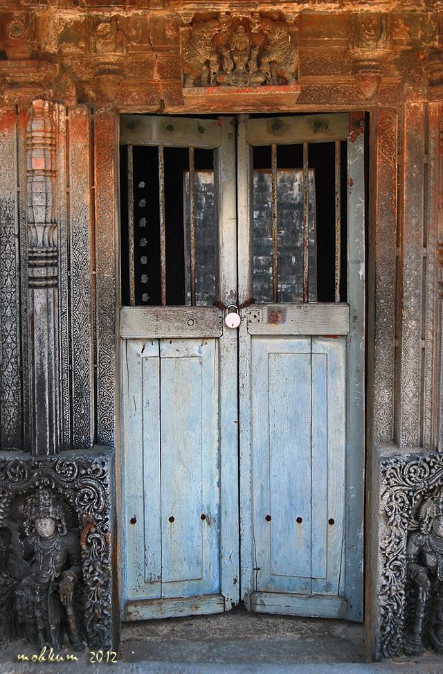 The closed door