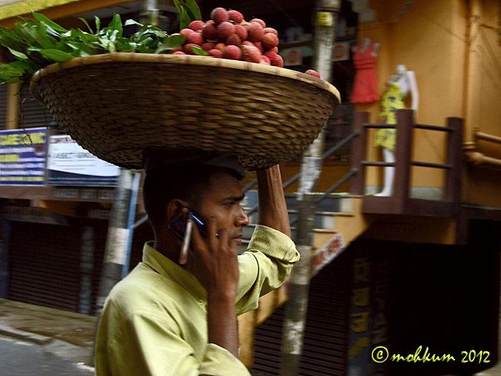 The lychee seller from Darjeeling!