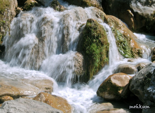 The sparkling falls!