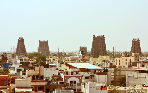 The temple town of South India!
