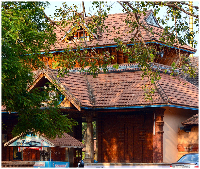 The Thaliyil Siva Temple, Nileshwar, Kerala