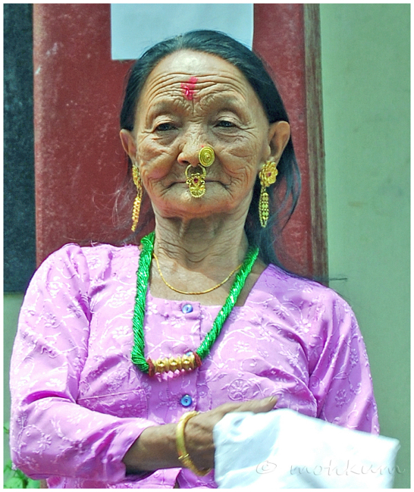 The old lady from Sikkim!