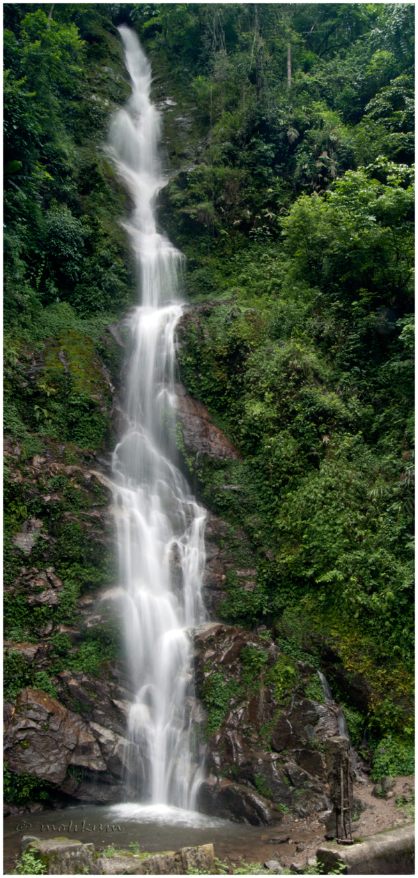 waterfalls mountain sikkim