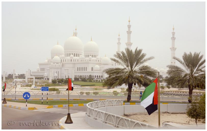 The Grand Mosque , Abu Dhabi