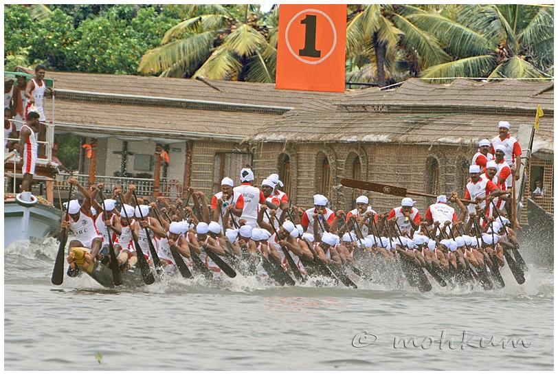 The Chundan! (The snake boat)