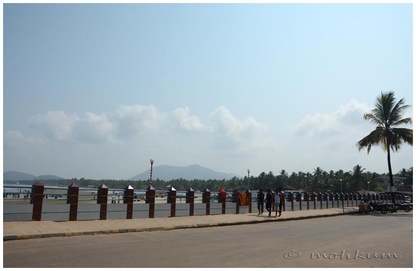 The long walk!