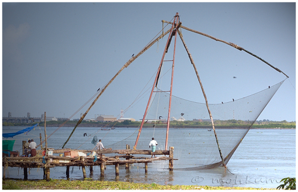 Cheenavala! (Chineese Fishing net)