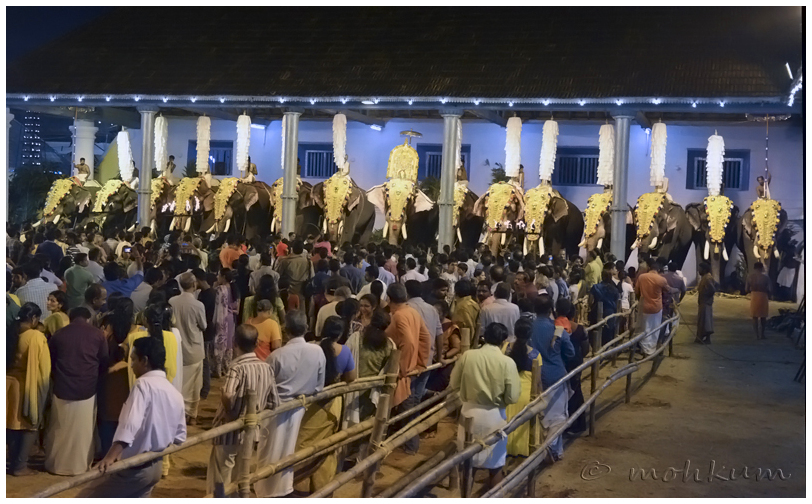 The Temple festival, Tripunithura