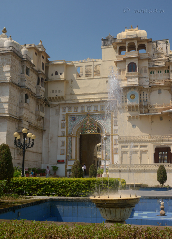 The City Palace, Udaipur, Rajasthan