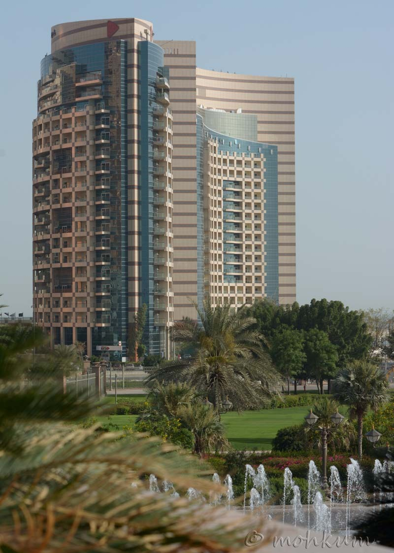 The City of Abu Dhabi, UAE