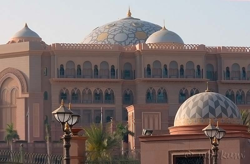 The Emirates Palace!