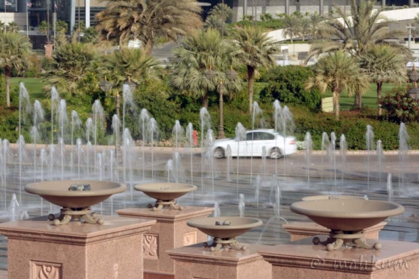 The water fountain!
