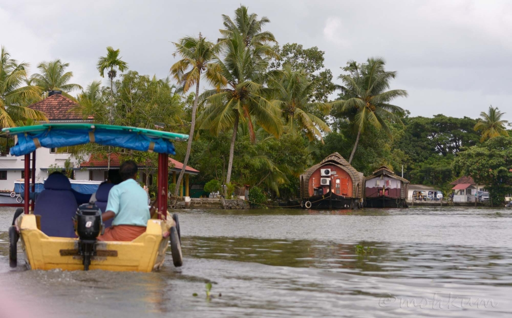Along the backwaters!