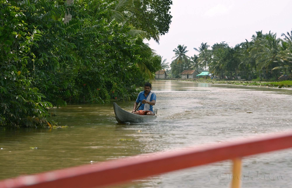 The boatman!