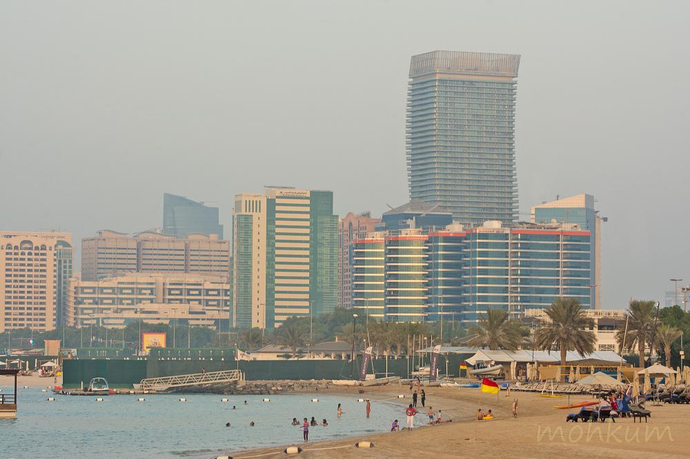 beach corniche abudhabi