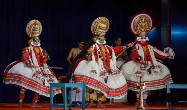 The ''Kathakali artform from Kerala, India